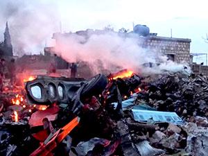 Rus pilotun cenazesi Rusya'da