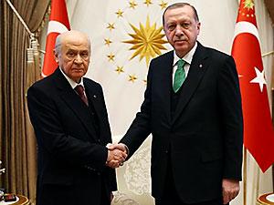 Davet Erdoğan'dan: Bahçeli ile İstanbul seçimini konuştu