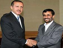 Erdoğan-Ahmedinejad görüşmesi bitti