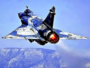 Yunanistan'a ait savaş uçağı Ege Denizi'nde düştü