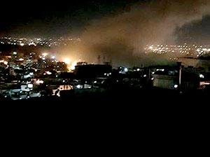 ABD, Fransa ve İngiltere, Suriye'yi vurdu