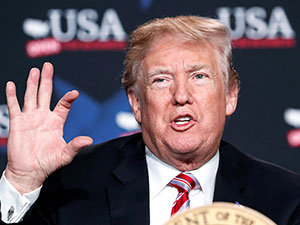 Trump: İran'la iş yapan bizimle yapamaz!