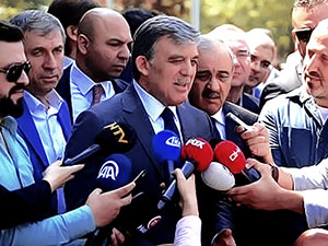 Abdullah Gül'den Trump açıklaması