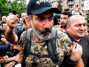 Ermenistan'da Paşinyan başbakan seçildi