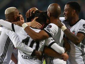 Beşiktaş 3 puana ikinci yarıda uzandı: 3-2