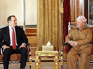 Mesud Barzani özel Temsilci McGurk ile görüştü