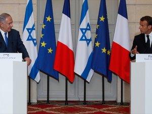Macron: Gazze'deki şiddeti kınıyorum