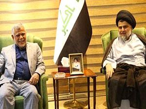 Irak'ta Sadr, Fetih koalisyonuyla ittifak kurdu