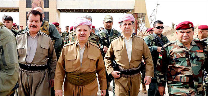 Mesud Barzani 'Pırde Cephesi'nde