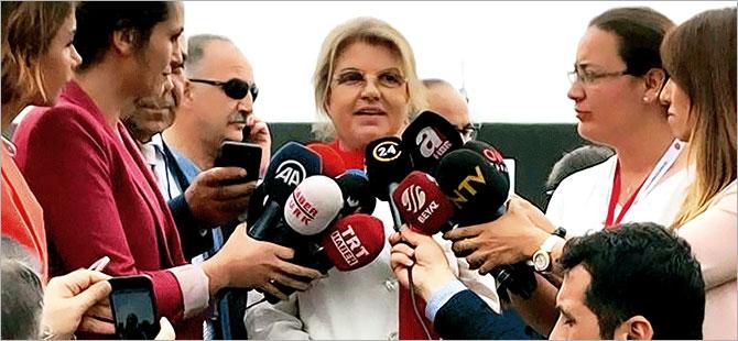 Tansu Çiller, AKP mitingine katıldı