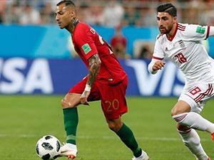 İran ile Portekiz 1-1 berabere kaldı
