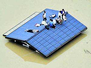 Japonya'da şiddetli yağmur: En az 64 ölü