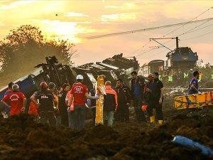 Tren kazasında can kaybı 24'e yükseldi
