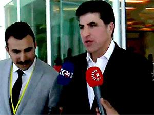 Neçirvan Barzani Ankara'da