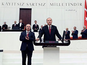 Erdoğan: Bana 'Başkan' diyebilirsiniz