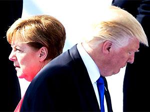 Merkel'den Trump'a: Almanya bağımsız bir ülke
