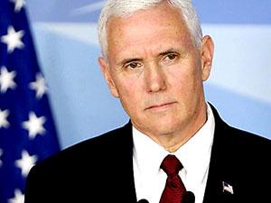 ABD Başkan Yardımcısı Pence'ten Bağdat'a sürpriz ziyaret