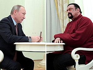 Rusya ABD'li aktör Steven Seagal'ı elçi atadı