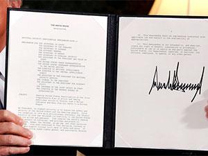 Trump'tan İran yaptırımları kararnamesi