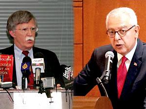 Bolton, Türkiye'nin Washington Büyükelçisi Kılıç ile görüştü