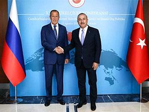 Çavuşoğlu ve Lavrov'dan İdlib mesajları