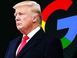 Trump, Google'ın arama sonuçlarını eleştirdi