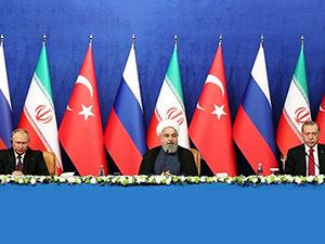 Tahran Zirvesi'ndeki 12 maddelik bildiri yayınlandı