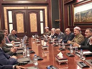 Mesud Barzani, Sünni siyasetçileri kabul etti