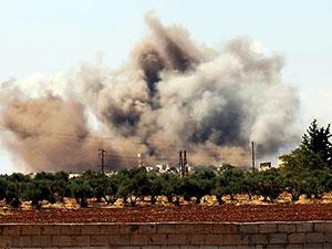 Suriye rejimi İdilib'de Türkiye'ye ait askeri üssü vurdu