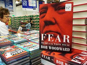 Woodward'un Trump kitabı satış rekoru kırdı