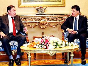 Neçirvan Barzani, İngiltere'nin Bağdat Büyükelçisi ile görüştü