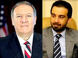 Pompeo, Irak Parlamento Başkanı ile görüştü