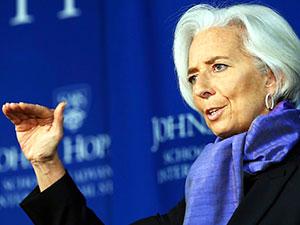 IMF Başkanı: 'Ufukta risk bulutları dolaşıyor'