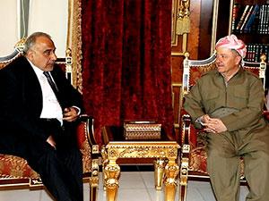 Barzani: Abdulmehdi, Kürdistan halkının dostu