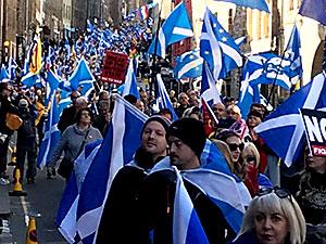 İskoçlar'ın bağımsızlık yürüyüşü