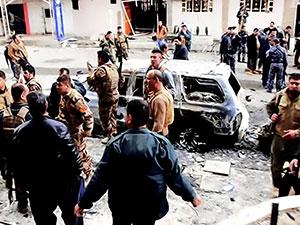 Bağdat'ta peş peşe patlamalar: 4 ölü, 7 yaralı