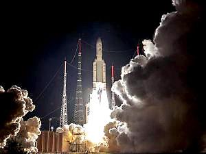 Merkür'e gidecek uzay aracı yörüngeye gönderildi