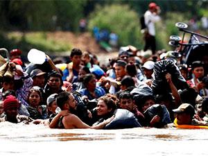 ABD göçmenlere karşı binlerce asker gönderiyor