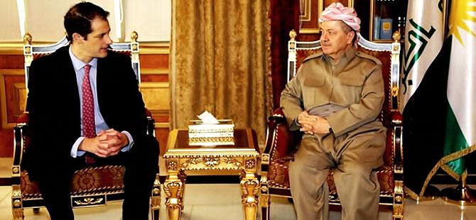 Mesud Barzani ABD heyetini kabul etti