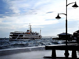 İstanbul için fırtına ve yağış uyarısı