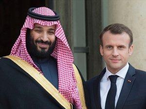 Macron G20'de Suudi Veliaht Prens ile görüşecek