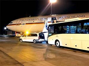 Uçağı bozulan Merkel G20 açılışına katılamadı