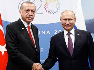 Erdoğan ile Putin görüştü: 'İdlib'de farklı adımlar atılmalı'