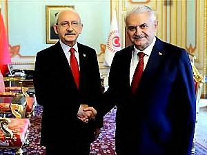 Kılıçdaroğlu ile Binali Yıldırım arasında sürpriz görüşme