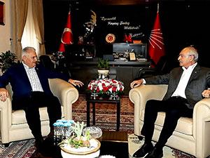 Yıldırım'dan Kılıçdaroğlu'na ziyaret