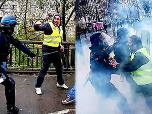 Sarı Yelekliler: Saldırı hükümetin komplosu