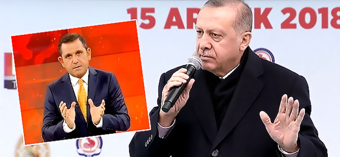 Erdoğan'dan Portakal'a: Ahlaksıza bak, bu ne terbiyesizlik?