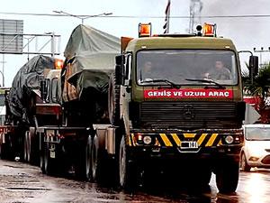 Suriye sınırına askerî sevkiyat: Obüs, tank, ZPT