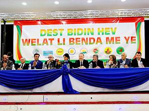 HDP ve bazı Kürt partilerinden ortak deklarasyon