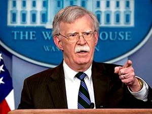 Bolton'ın Ankara'da yaptığı görüşme sızdırdı